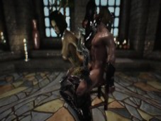 skyrim spider queen and Spriggan girl 3p porn