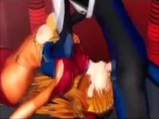 Asuka And Shinji 3D Hentai Porn Video