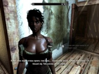 TES5 Skyrim My Own 3D Hentai Build Gameplay Redguard Saadia Public Blowjob